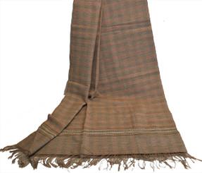 Meditation Shawl - Hand-Loomed Ikat Pattern - Pure Organic Cotton 3