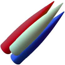 "Fiberglass 3"" Filament Wound (Select Shape)"