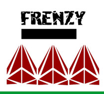 "Cut Vinyl 4"" Frenzy Decal"