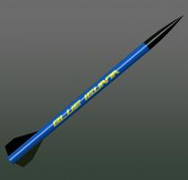 "2.6"" Fiberglass Blue Iguana"