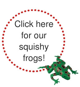 squishy stretchy frogs sensory autism toy