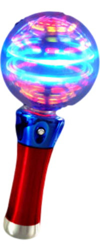 Spin Globe switch adapted toy