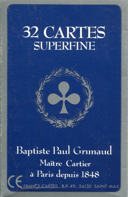 Belote Grimaud Superfine, Plastic Box