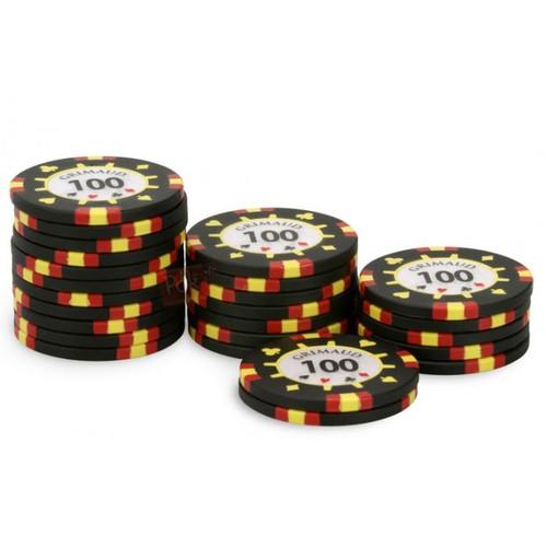 Poker Master Chips, 100U, 25 ct