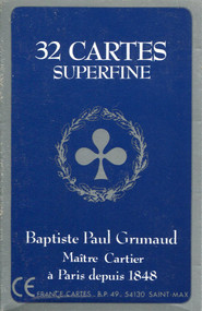 Belote Grimaud Superfine, Cellophane