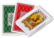 Baraja Española, No. 27, 50 Cards, Red Back