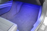 2005-2014 Ford Mustang Footwell Lighting Kit - Blue