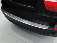 2007 - 2011 BMW X5 E70 - Stainless Steel Rear Bumper Protector