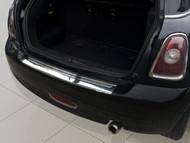 2008-2013 Mini Cooper II R56 - Stainless Steel Rear Bumper Protector