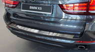 2013+ BMW X5 F15 - Stainless Steel Rear Bumper Protector