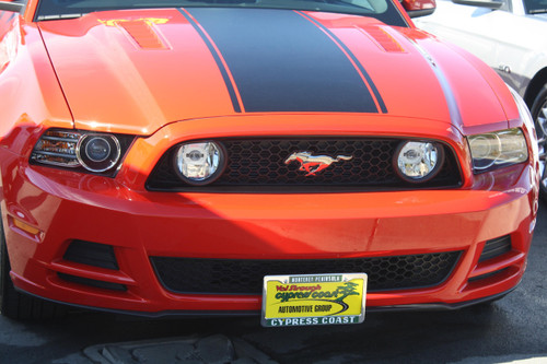 2013-2014 Ford Mustang GT/V6 - Removable Front License Plate Bracket STO N SHO