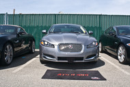2012-2015 Jaguar XF Luxury Sedan - Quick Release Front License Plate Bracket SNS69