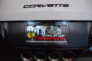Corvette C6 C7 License Plate LED Light Bulb Set