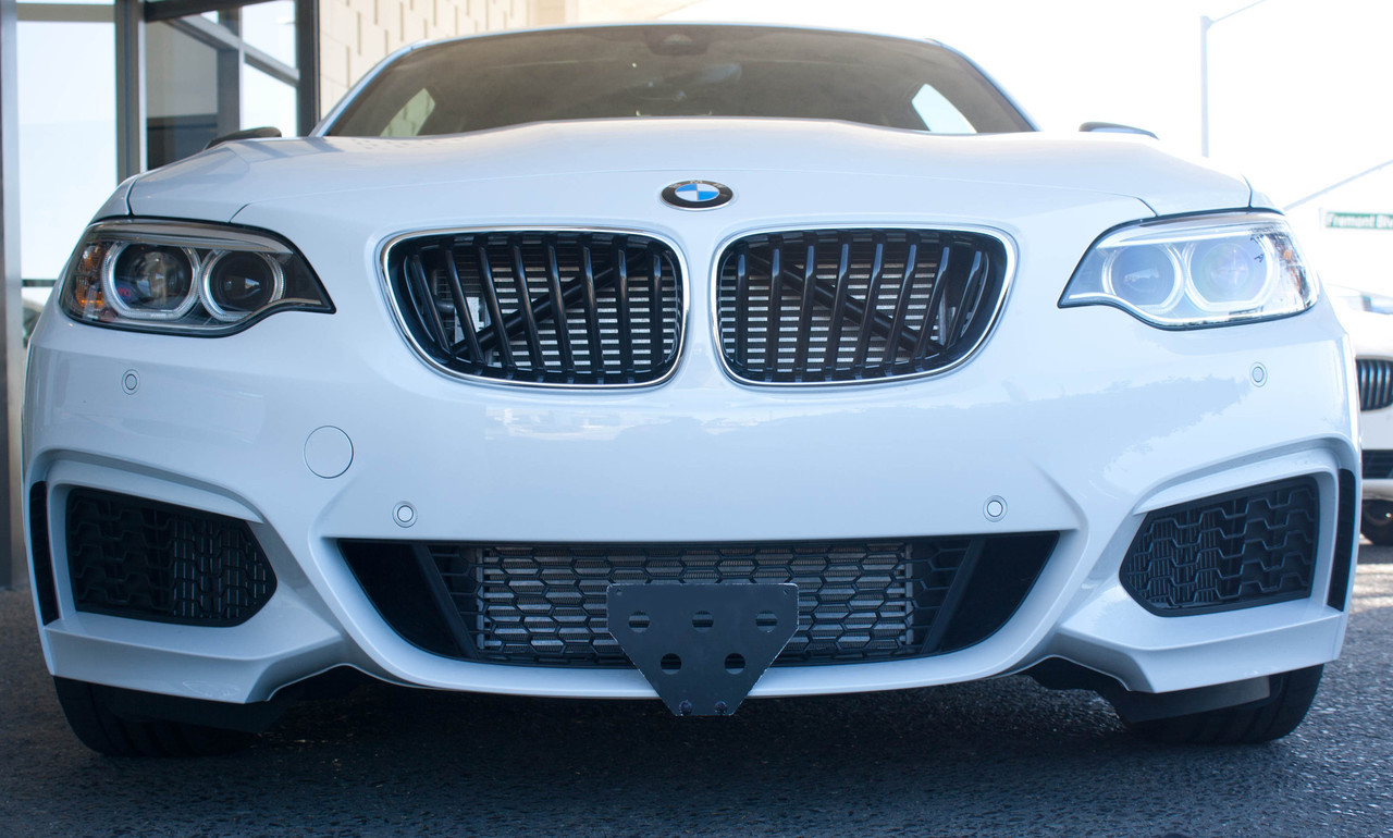 2015 2018 Bmw M235i Quick Release Front License Plate