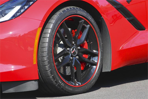 Fire Red Rimstripes by Tapeworks - Corvette C7