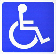 Handicapped Decal Sticker