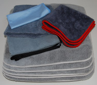 Micro Fiber Auto Detailing Towel Set Approved by Glen E