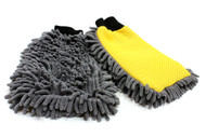 Microfiber  Auto Wash Mitt Two Sided