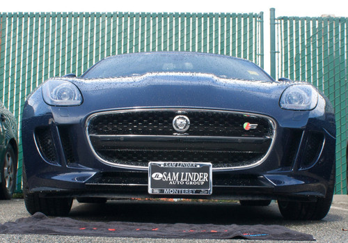 2014 - 2017 Jaguar F-Type - Quick Release Front License Plate ...