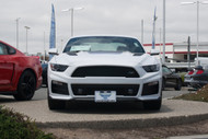 2015-2017 Ford Mustang Roush Stage 2 and Stage 3 manual trans - Removable Front License Plate Bracket STO N SHO