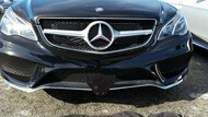 2016 Mercedes E400 Coupe Sport  - Quick Release Front License Plate Bracket STO N SHO