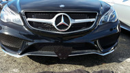 2016 Mercedes E400 Coupe non Sport - Quick Release Front License Plate Bracket STO N SHO