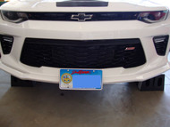2016-2017 Chevrolet Camaro w/ Factory Ground Effects or 1LE and Anniversary Edition Camaro SS - Quick Release Front License Plate Bracket