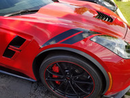Corvette C7 Grand Sport Hash Marks - Black
