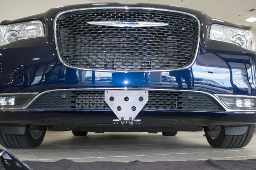 2015 2018 Chrysler 300 Quick Release Front License Plate