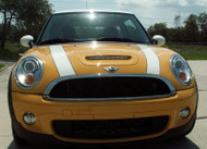 2009+ Mini Cooper Coupe S & Clubman S Hood Scoop Vent Perforated ACC