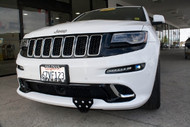 2012-2016 Jeep Grand Cherokee SRT - Quick Release Front License Plate Bracket
