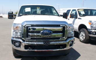 2014 Super Duty F250 F350 Removable Front License Plate