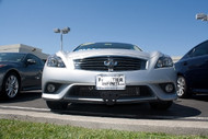 2013-2016 Infiniti G37s & Q60s - Removable Front License Plate Bracket STO N SHO