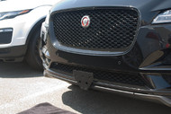 2017 2018 Jaguar F-Pace - Quick Release Front License Plate Bracket