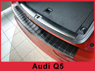 Audi Q5 SQ5 Rear Bumper Protector Guard Black