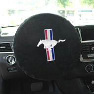Mustang Steering Wheel Cover by Seat Armour