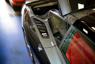 2014-2017 C7 Corvette Stingray - 2pc Rear Quarter Vent Grilles Matrix Series