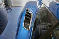 2014-2017 C7 Corvette Stingray - 2pc Polished Rear Quarter Vent Set - Z06 Style by ACC 052063