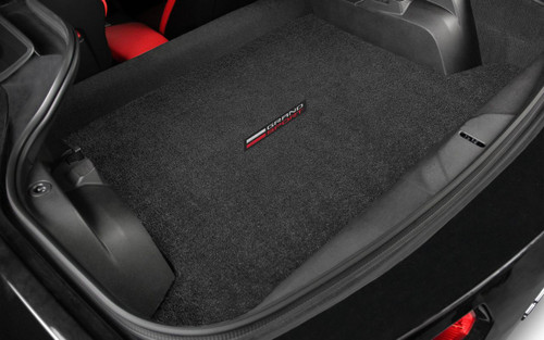 Corvette C7 2017-ON Coupe Grand Sport Cargo Mat- Lloyd Mats Ultimat - Jet Black