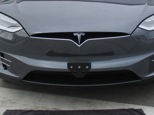 2016 2018 Tesla Model X Quick Release Front License