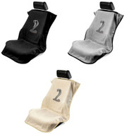 Mustang Cobra Logo Seat Towel Protection by Seat Armour