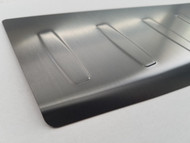 2011-2014 BMW X3 F25 - Stainless Steel Rear Bumper Protector - Black