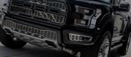 2017 Ford F-150 SVT Raptor - Front Lower Bumper Leaf Grilles