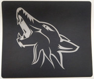 2015-2017 Mustang Sun Visor Warning Label Coyote Blackout Decals - Silver Coyote