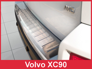 2007-2015 Volvo XC90 - Stainless Steel Rear Bumper Guard