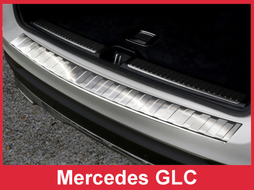 2016 - 2018 Mercedes-Benz GLC - Stainless Steel Rear Bumper Protector Guard