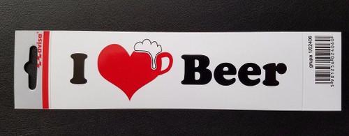I love been vinyl auto bumper sticker decal
