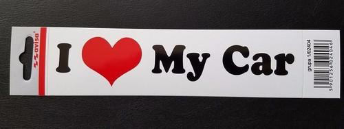 I love my car bumper sticker
