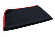 Microfiber Big Thristy Waffle Weave Drying Towel 25''x 36'' Black
