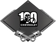 Black Diamond Cross Pistons 100 years Metal Sign Wall Hanging Art - 25x19